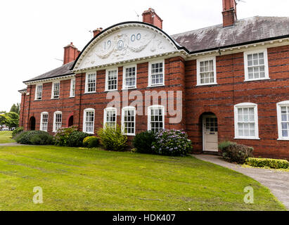 Port Sunlight Village, Wirral, Merseyside. England - Stock Photo