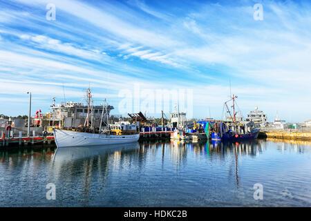 Australia, Victoria, Lakes Entrance, the Marina and fishing