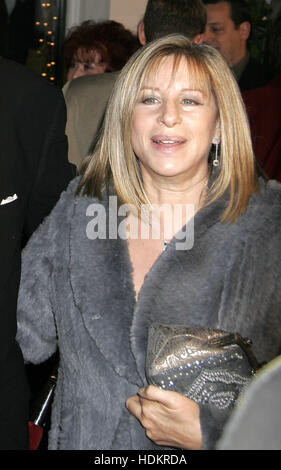 Barbra Streisand at the premiere of the film, 'Meet The Fockers'  on December 16, 2004 in Los Angeles. Photo credit: - Stock Photo