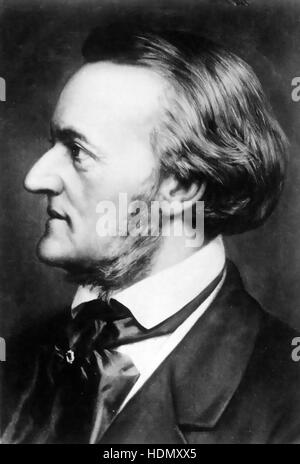 RICHARD WAGNER  (1813-1883) German operatic composer about 1850