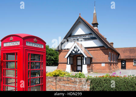 Chobham Village Hall, Station Road, Chobham, Surrey, England, United Kingdom - Stock Photo