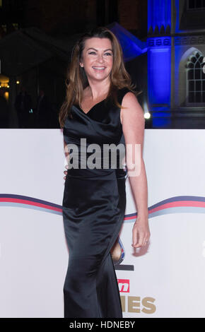 London, UK. 14th Dec, 2016. Suzi Perry in Guild Hall on 14th December 2016, London, England. Credit:  The Photo - Stock Photo
