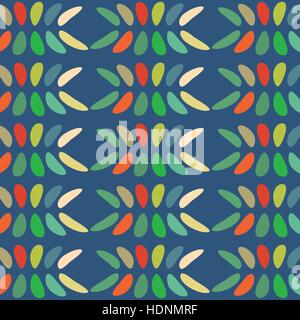 Ovals colorful abstract background. - Stock Photo