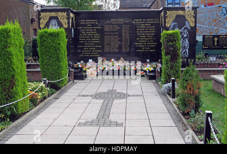 Falls rd,Garden of remembrance, IRA members killed,also deceased ex-prisoners,West Belfast,NI, UK - Stock Photo