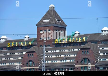 Lagerhaus, Behala, Westhafen, Moabit, Berlin, Deutschland - Stock Photo