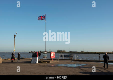 Orford Quay, Suffolk, UK. - Stock Photo