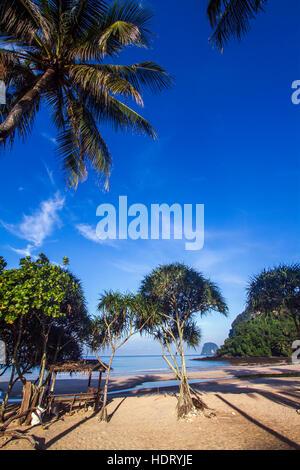 Koh Muk beach island in Thailand - Stock Photo