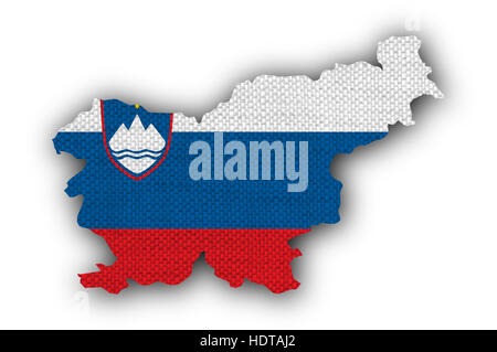Outline Slovenia Map Stock Photo Royalty Free Image Alamy - Slovenia map hd