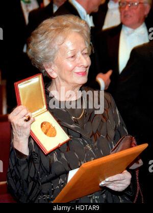 WISLAWA SZYMBORSKA Polish writer 1996 and Nobel prize laureate in Literature - Stock Photo