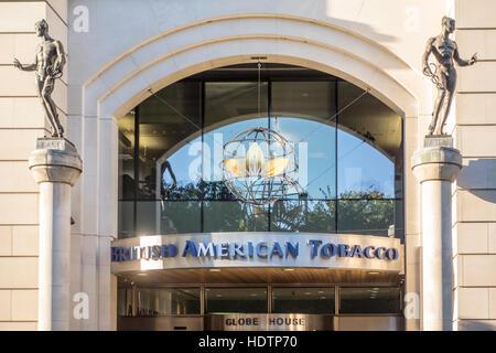 British American Tobacco offices, London, UK - Stock Photo
