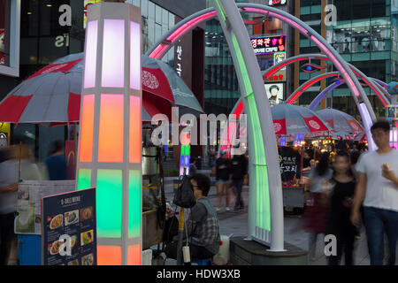 BIFF Square, Nampo District, Busan, South Korea, Asia - Stock Photo