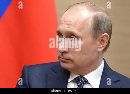 VLADIMIR PUTIN President of the Russian Federation in 2016. Photo: www.kremlin.ru - Stock Photo