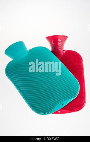 Hot water bottle - Stock Photo