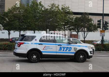 nypd new york police department t3 three wheeler vehicle police stock photo royalty free. Black Bedroom Furniture Sets. Home Design Ideas
