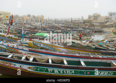 Inland rivers of St,Louis, Senegal - Stock Photo