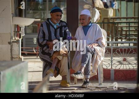 Moroccan men, Morocco - Stock Photo