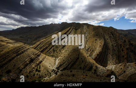 Canyons of the High-Atlas, Morocco