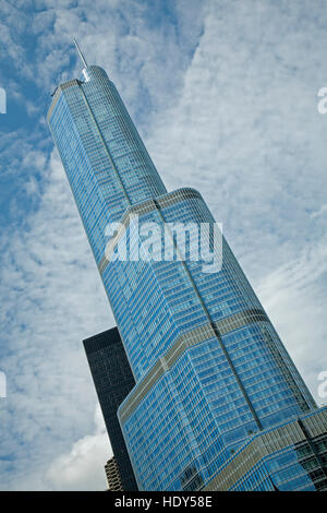 Trump Tower, Chicago, Illinois USA - Stock Photo