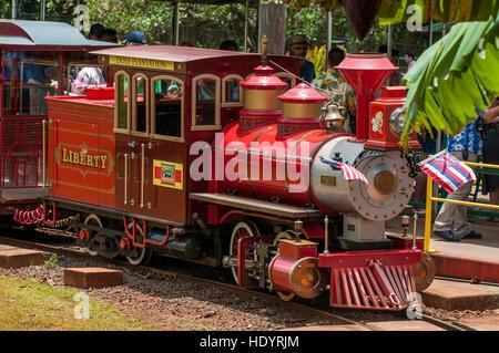 Dole Plantation Pineapple Express Train Wahiawa Honolulu ...