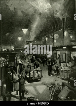 Living London; its work and its play, its humour and and its pathos, its sights and its scenes; (1902) - Stock Photo