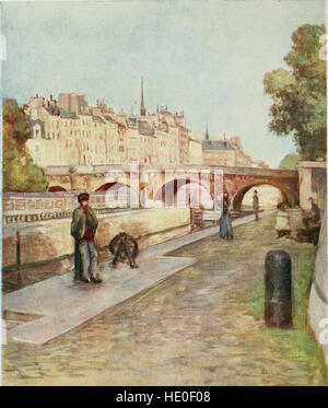 Paris and its story, by T. Okey; illustrated by Katherine Kimball and O. F. M. Ward (1904) - Stock Photo