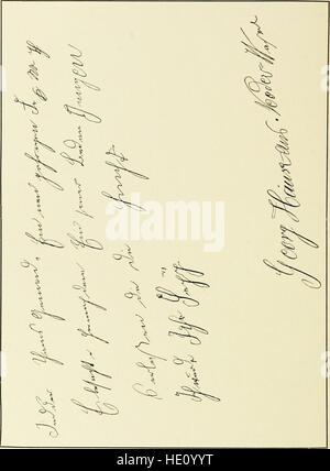 Die Schrift bei Geisteskrankheiten; eine Atlas mit 81 Handschriftproben (1903) - Stock Photo