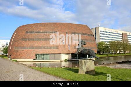 Smitsborg Data Centre at Zernike University campus in Groningen, The Netherlands. - Stock Photo