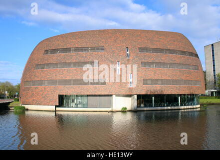Smitsborg Data Centre at Zernike University complex in Groningen, The Netherlands. - Stock Photo