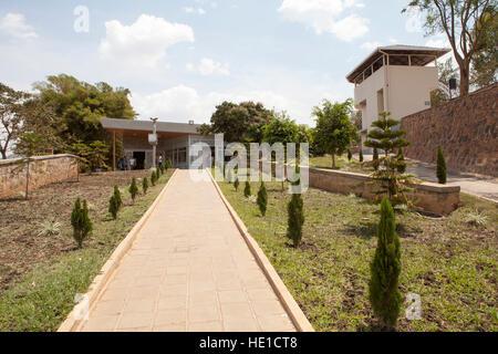 Kigali Genocide Memorial Centre, Genocide Museum, Kigali, Rwanda - Stock Photo