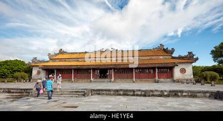 Thai Hoa Palace (Palace of Supreme Harmony). Imperial City, Hue, Vietnam. - Stock Photo
