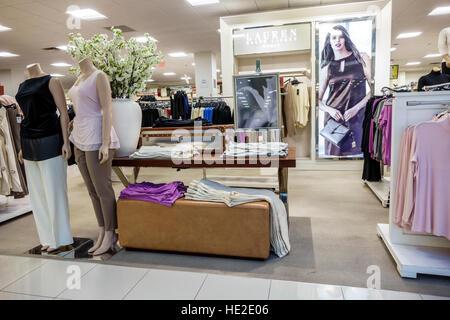 ... Florida Miami Aventura Mall Macyu0027s Department Store Interior Display  Sale Womenu0027s Clothing Ralph Lauren   Stock