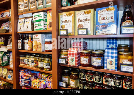 Port Charlotte Florida Cracker Barrel Old Country Store restaurant interior display sale food - Stock Photo