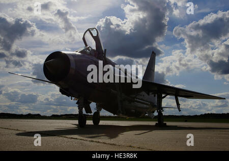 English Electric Lightning F6 - Stock Photo