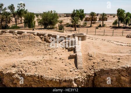 The ancient city of Ubar, Shisr, in Dhofar region, Oman 2 - Stock Photo