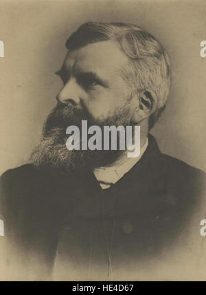Reverend J A Faithfull, vicar of Holy Trinity, Scarborough 1882 - Stock Photo