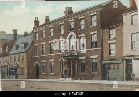 Beverley Arms Hotel with part of North Bar Within, Beverley - Stock Photo