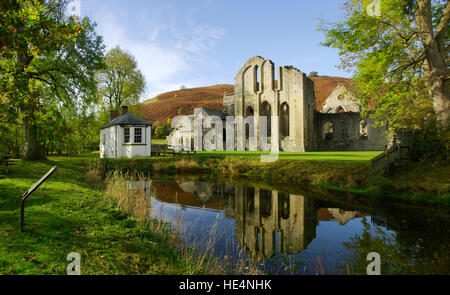 Valle Crucis Abbey - Stock Photo