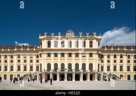 Schönbrunn Palace, Schönbrunn, Vienna, Austria - Stock Photo