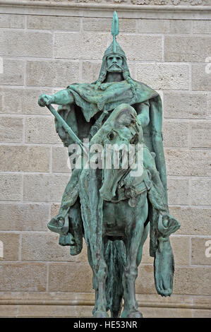 Arpad Magyar warrior heroes square Budapest Hungary