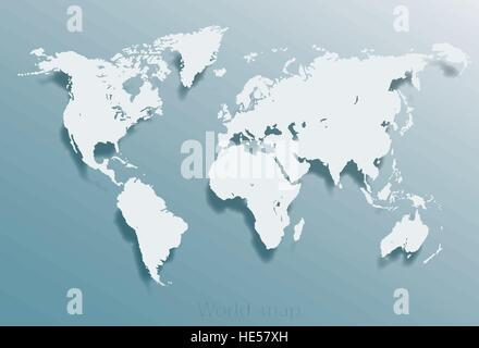 Blank usa map isolated on gray background united states of america blank grey similar world map isolated on white background best popular world map vector template gumiabroncs Images