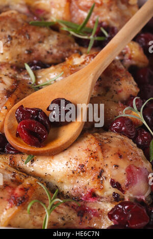 Baked Chicken with Rosemary Stock Photo, Royalty Free ...
