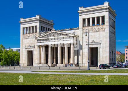 The Propylaen monument in Konigsplatz, Munich - Stock Photo