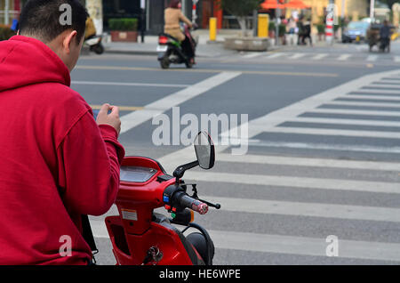 Waiting for his turn! - Stock Photo