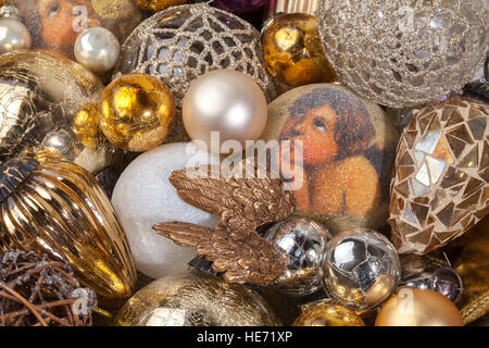 My Christmas tree toys - Stock Photo