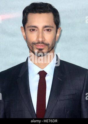 Dec 13, 2016  - Riz Ahmed attending 'Rogue One: A Star Wars Story' - Launch Event at Tate Modern in London, England, - Stock Photo