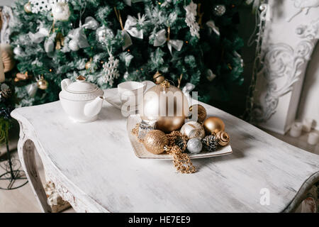 Disco Ball Table Decorations Entrancing Sparkling Gold Disco Ball On A Mosaic Background With Lens Flares Design Inspiration