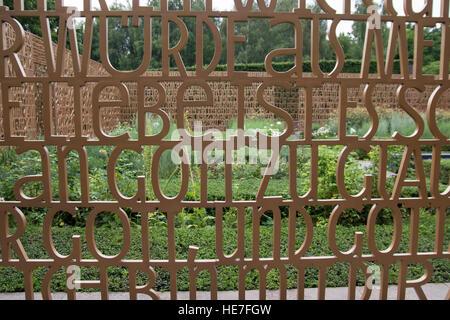 Gärten der Welt  (Gardens of the World). Christian garden. Berlin, Germany. - Stock Photo