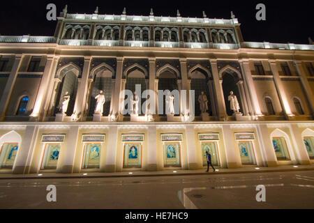 Nizami Museum of Azerbaijani Literature - Stock Photo