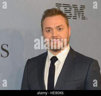 Director Theodore Melfi walks the red carpet during the global celebration event for the film Hidden Figures at the SVA Theatre December 10, 2016 in New York City, New York. The film is based on the true story of the African-American women who worked as human computers during the Friendship 7 mission in 1962.