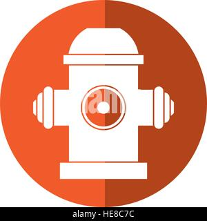 Red Fire Fighting Hose Icon In Cartoon Style Stock Vector
